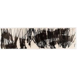 "Ayan Rivera ""Marsh"" Sumi Ink Original Painting For Sale"
