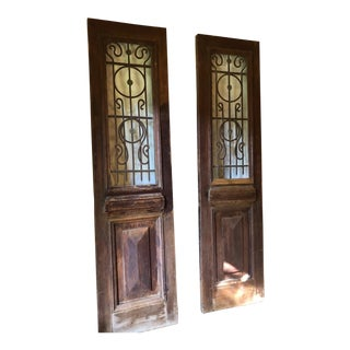 Beautiful Antique Doors - A Pair For Sale