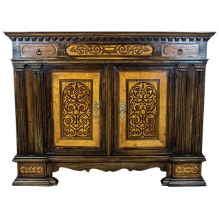 Neo-Renaissance Commode or Cupboard from the 19th Century For Sale