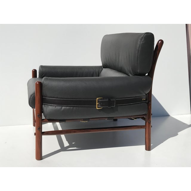 Arne Norell Pair of Arne Norell Kontiki Safari Lounge Chairs For Sale - Image 4 of 10