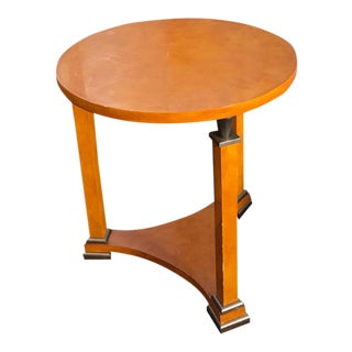Modern Circular Side Table