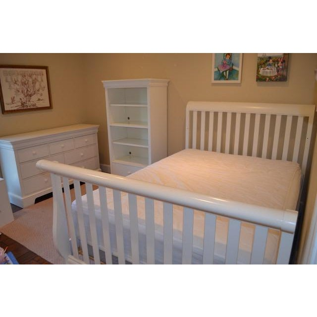Stanley White Full Bedframe - Image 9 of 10