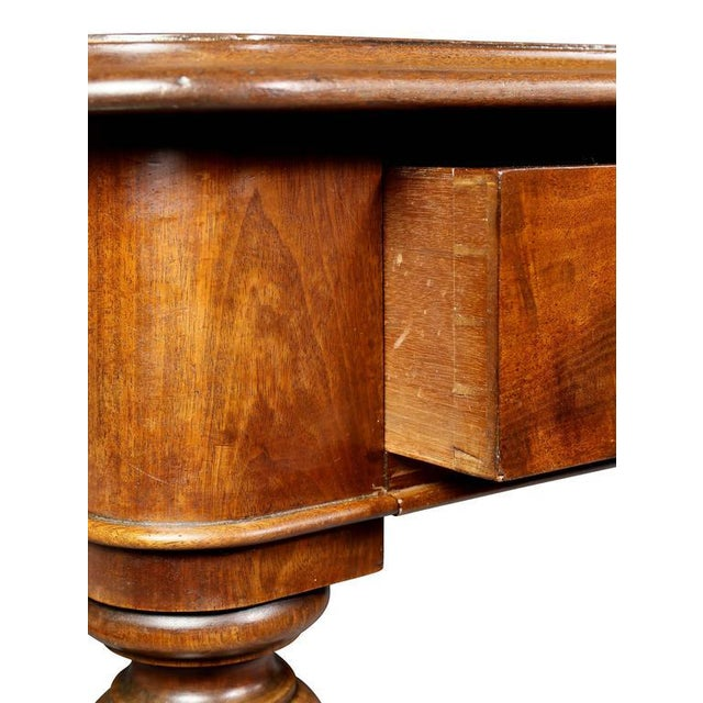 Mid 19th Century William IV Mahogany Writing Table or Desk For Sale - Image 5 of 10