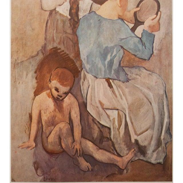 """Pablo Picasso 1950s Picasso """"La Coiffure"""" Original Period Lithograph For Sale - Image 4 of 10"""