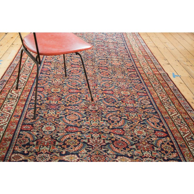 "Antique Malayer Rug Runner - 5'2"" X 9'9"" - Image 9 of 10"