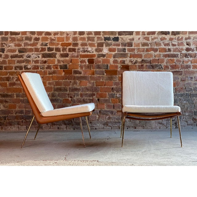 Boomerang Chairs France & Son Peter Hvidt & Orla Mølgaard Nielsen, 1950s - A Pair For Sale - Image 10 of 13