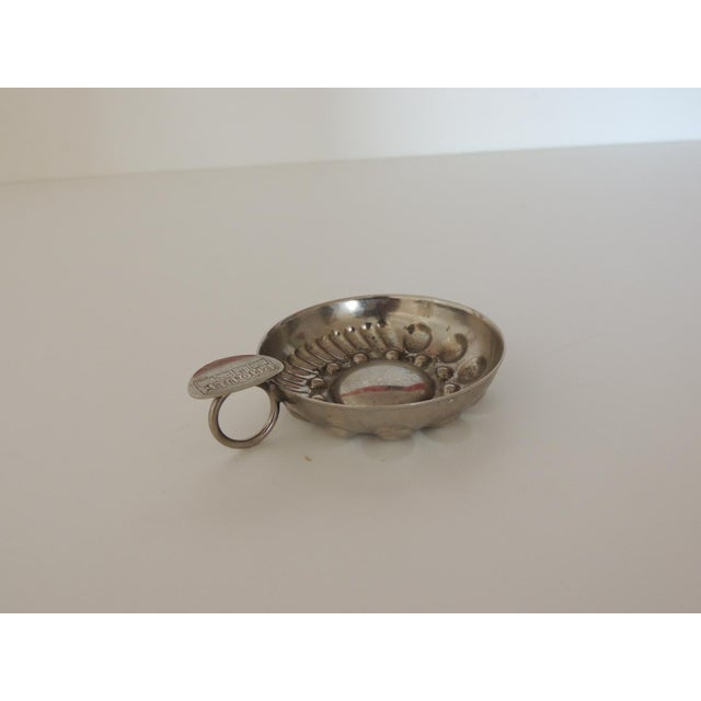 Silver Plated Vintage Tasting Wine Cup For Sale In Miami - Image 6 of 6