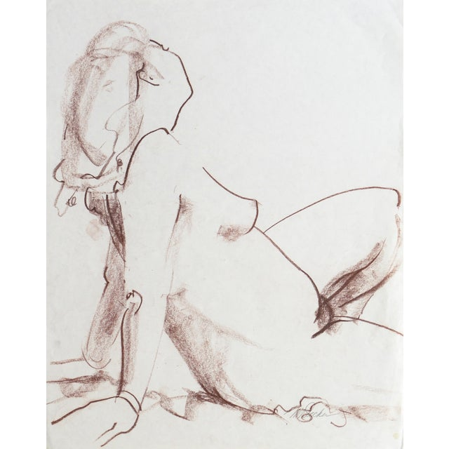 Seated Nude by Michael Decker - Image 1 of 6