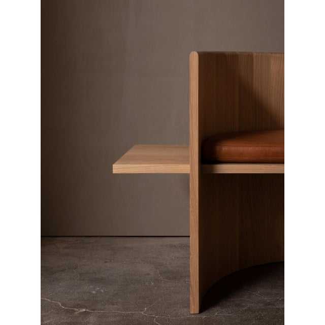 Campagna Campagna (| Sit Chair in White Oak For Sale - Image 4 of 6