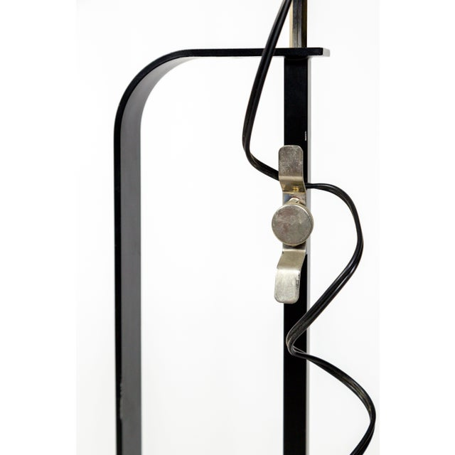 Castiglioni Toio Industrial Black Floor Lamp by Flos For Sale - Image 10 of 13