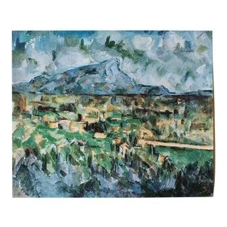 "1950s Paul Cezanne ""Mont Sainte Victoire"", First Edition Lithograph For Sale"