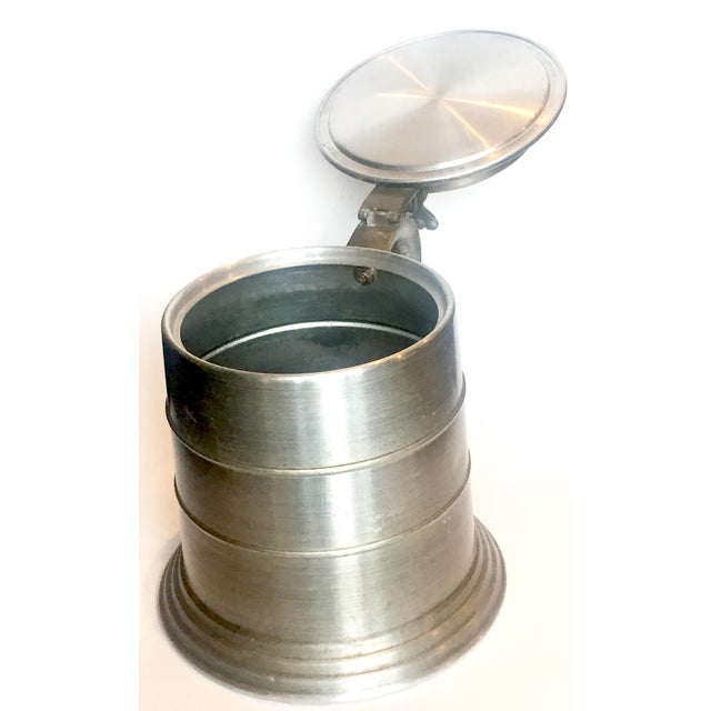 Rustic Huge Pewter Stein Ice Bucket For Sale - Image 3 of 7