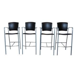 Set of 4 Enea Barstools by Josep Llusca for Coelesse