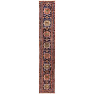 "Apadana - Antique Persian Heriz Rug, 3'1"" X 17'10"" For Sale"