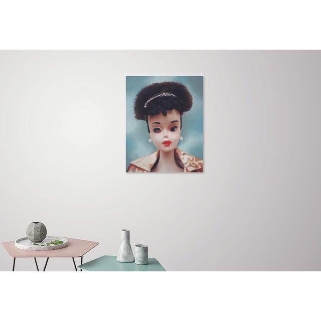 """Evening Splendour"" Barbie Oil Painting For Sale - Image 9 of 11"