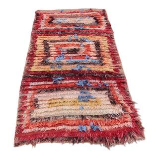 Tribal Angora Wool Mohair Filikli Rug For Sale