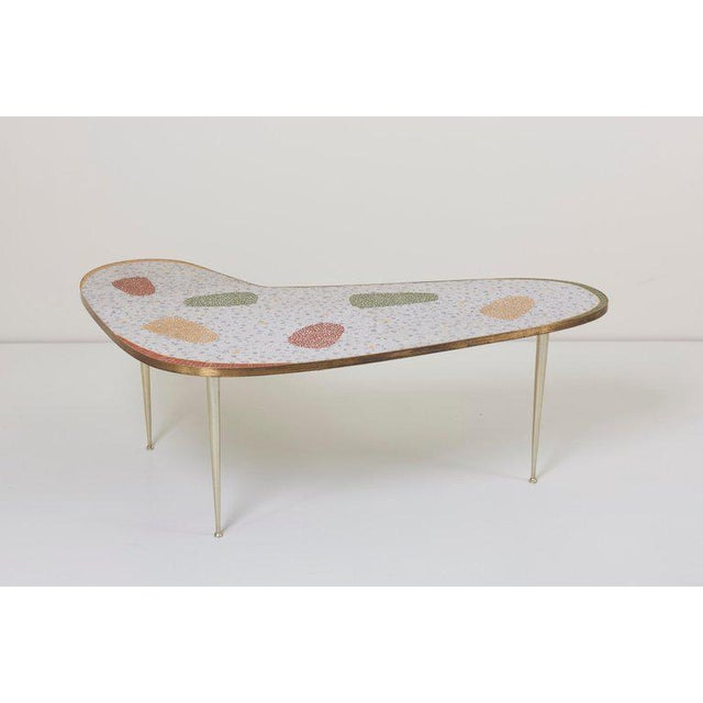 Mid-Century Modern Vintage Boomerang Coffee Table by Berthold Müller For Sale - Image 3 of 11