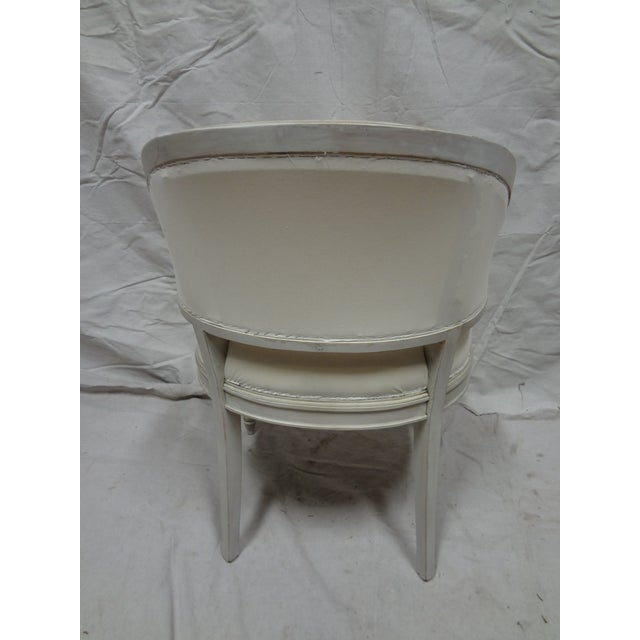 Swedish Gustavian Barrel Chairs - A Pair - Image 3 of 4