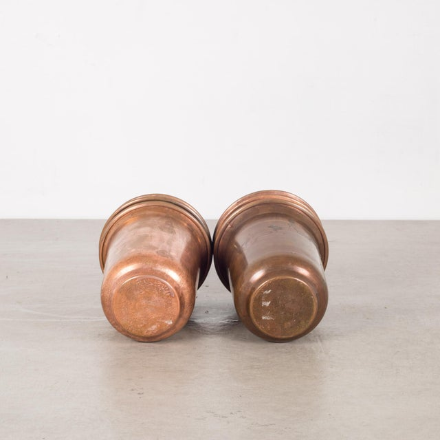 Set of Copper Ware Picnic Cups C.1950 - Set of 6 For Sale In San Francisco - Image 6 of 8