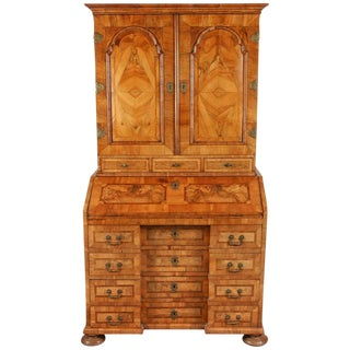 Late 17th Century Northern European Walnut Secretary For Sale