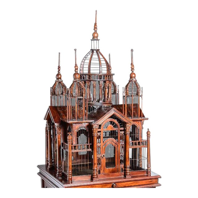Architectural Bird Cage For Sale