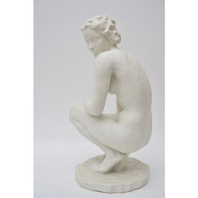 "Rosenthal Sculpture ""Die Hockende"" For Sale In West Palm - Image 6 of 12"