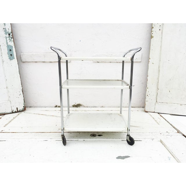 Vintage Mid Century Bar Cart - Image 2 of 5