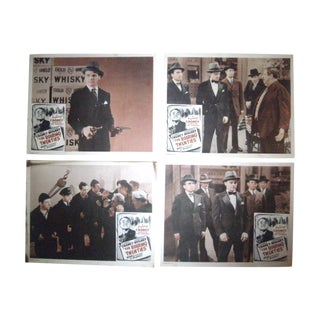 Cagney and Bogart Movie Lobby Cards - Set of 6