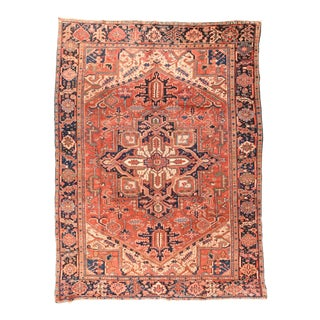 Antique Persian Heriz Rug For Sale