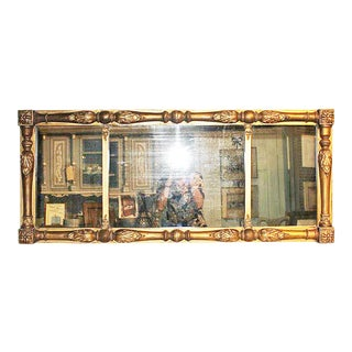 American Federal Gilt Mirror For Sale
