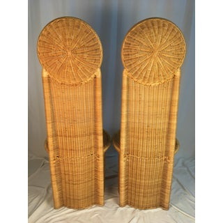 1980s Vintage Rattan Chairs - a Pair Preview