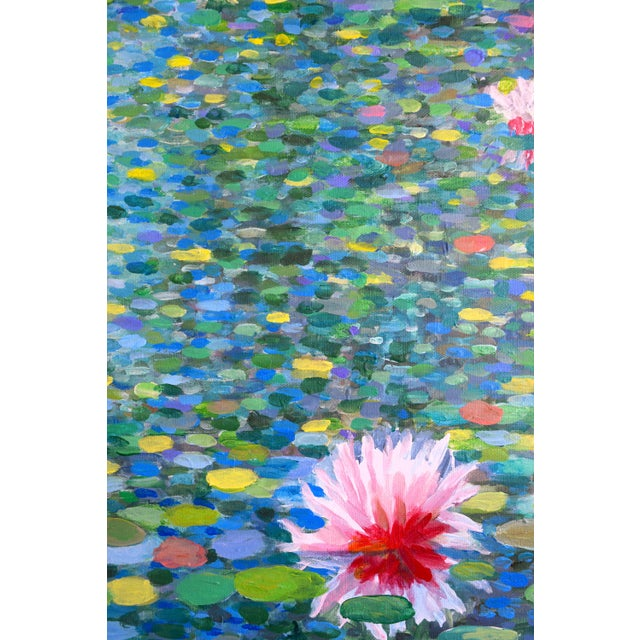 Acrylic Contemporary Waterscape Triptych Painting - 3 Pieces For Sale - Image 7 of 9