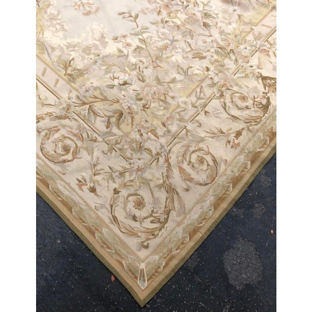Absolutely Stunning French Aubusson Needlepoint Rug For Sale - Image 4 of 6