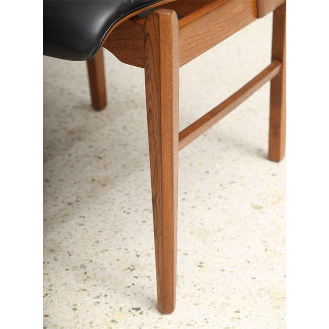 Pair of Danish Modern and Teak Armchairs For Sale - Image 10 of 11