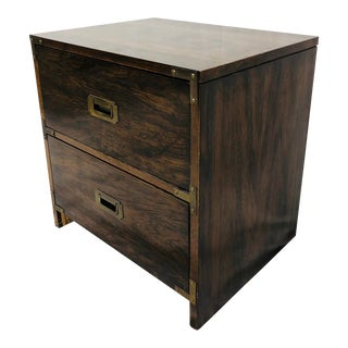 Vintage Campaign Style Side Table