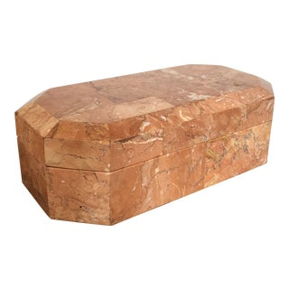 Tessellated Stone Box For Sale