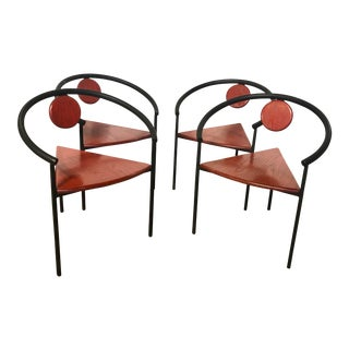 Post Modern Chairs - Set of 4 For Sale