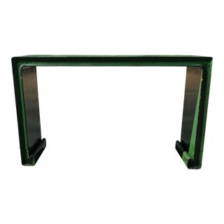 Green Oriental Asian Console Table
