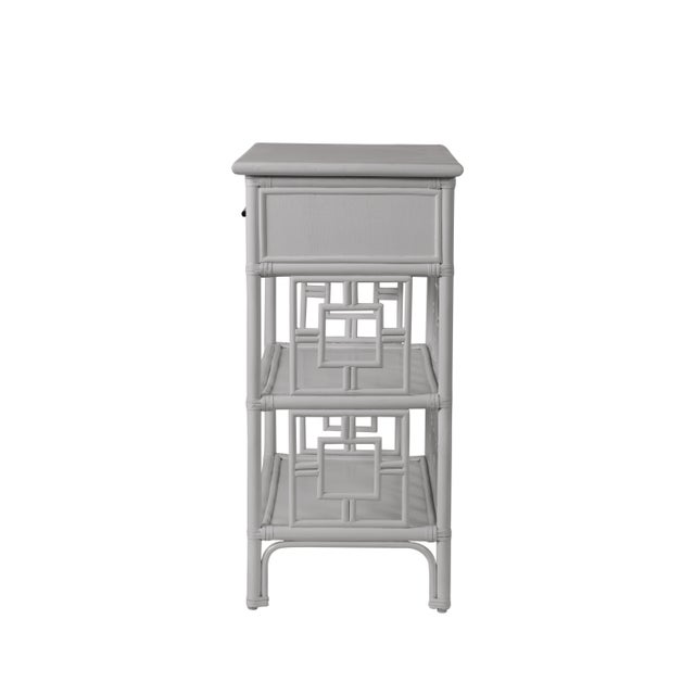 Not Yet Made - Made To Order Sobe End Table - Light Gray For Sale - Image 5 of 6