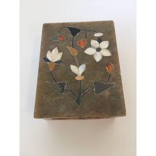 Anglo-Raj Marble Inlay Box Pietra Dura Preview
