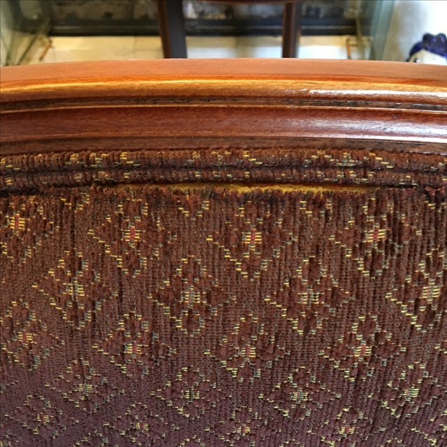 Ethan Allen French Country Bergère - Image 5 of 5