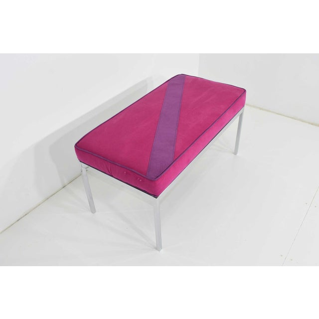 Contemporary Florence Knoll Bench For Sale - Image 3 of 7