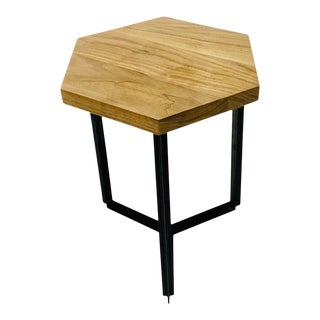 Custom Walnut Side Tables For Sale
