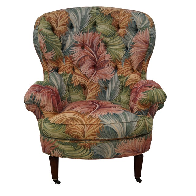 New Orleans by Councill Tufted Fan Back Wing Chair - Image 1 of 10
