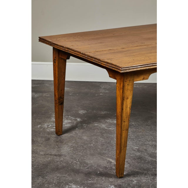 20th C. Indonesian Teak Farm Table For Sale In Los Angeles - Image 6 of 9