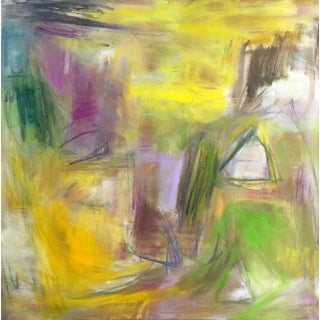 """Hideaway"" by Trixie Pitts Abstract Expressionist Landscape Painting For Sale"
