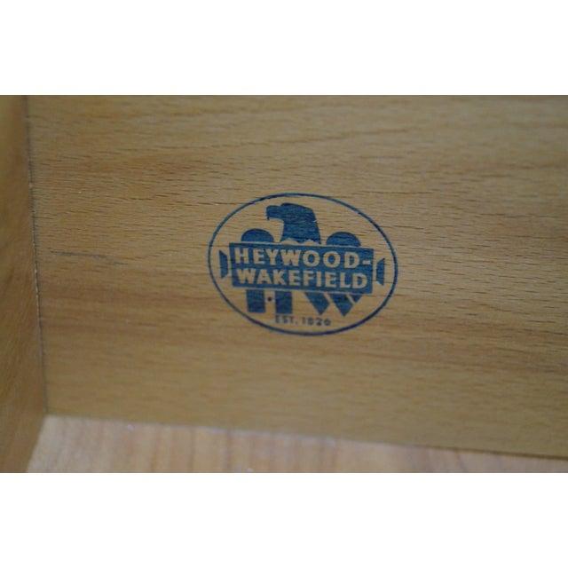 Heywood Wakefield Champagne Mid-Century Desk - Image 9 of 10