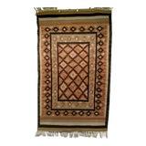 Image of Vintage Handmade Navajo Tribal Rug - 2′11″ × 5′4″ For Sale