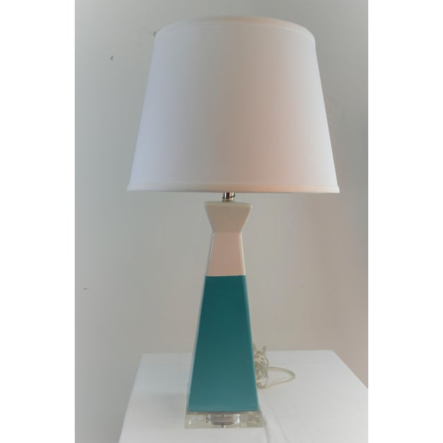 Bungalow 5 Gia Lamp Available in Light Blue, Navy Blue, and Turquoise The Gia Lamp is unique and will make a bold...