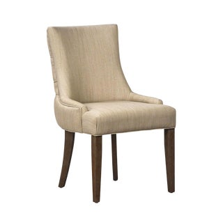 Capri Tufted Back Dining Chair For Sale